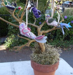 Daisy's birds on a tree