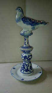 Bluebird totem