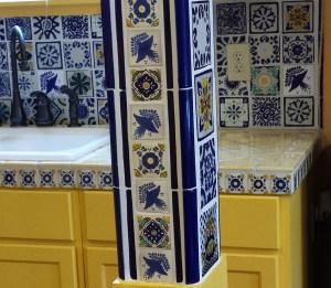 Eddy's tile kitchen