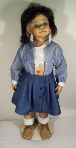 Shirley's black doll
