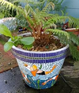 Shirley's flower pot