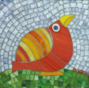 Suzanne's red bird