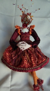 Colleen's doll with glass head