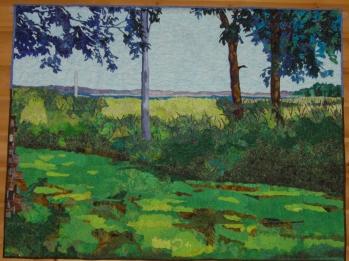 Colleen's landscape quilt 2