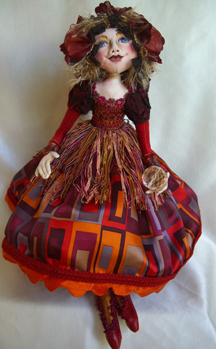 Colleen's pretty doll