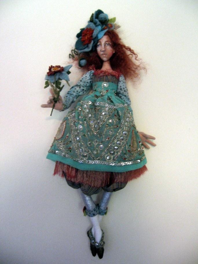 Christine-blue La Demooiselle de Fluer